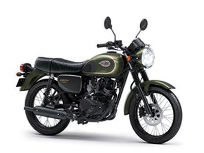 Kawasaki W175 SE Green Moss