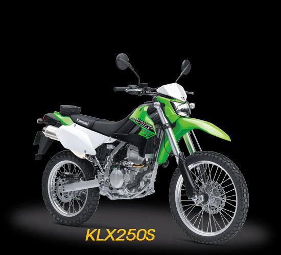 Kawasaki KLX250S xanh